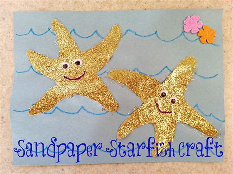 starfish pattern for kindergarten if these cheerios could talk diy leis and a sandpaper