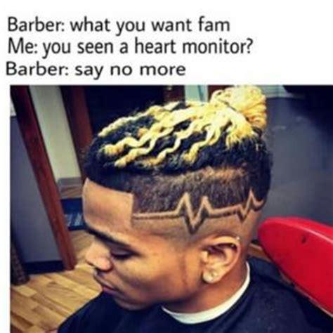You No Say Meme - barber jokes kappit