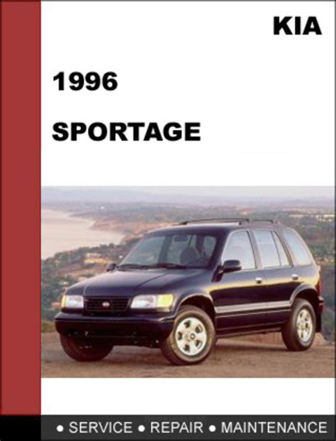 auto repair manual online 1995 kia sportage transmission control kia sportage 1996 oem service repair manual download download man