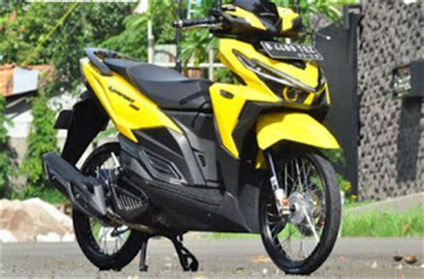Bagasi Depan Motor Vario 150 modifikasi honda vario 150 esp velg jari jari ring 17