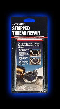 stripped thread repair  oz net wt kit permatex loctite  sailboat supplies engine