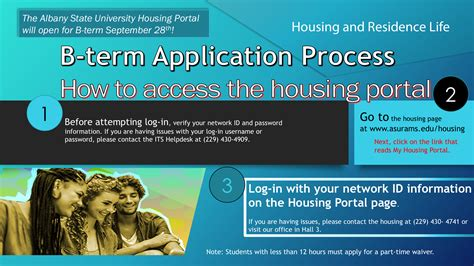 asu housing portal housing b term albany state university