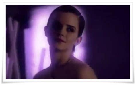 emma watson commercial emma watson lancome tresor midnight rose commercial