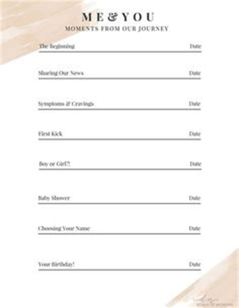 pregnancy journal pregnancy and free printable on pinterest