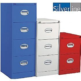 Silverline Filing Cabinet Silverline Kontrax Filing Cabinet 2 3 4 Drawer In Various Colours Specialist Furniture Contracts