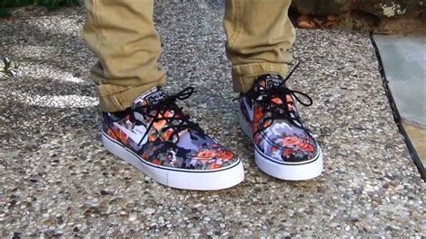 nike sb mandarin digital floral janoskis review