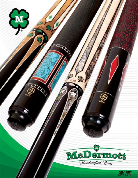 catalog mcdermott pool cues  mcdermott cue