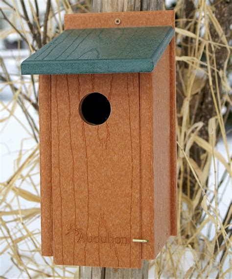 woodlink going green recycled plastic bluebird house