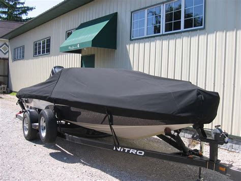 nitro boats covers windstorm pontoon boat cover for pontoon rails fits 24 6