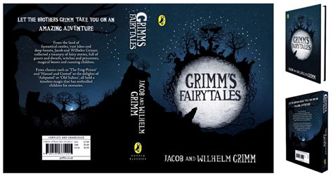 Whats A Book Jacket Report by Grimm S Tales Book Jacket Design By Claireadele On Deviantart