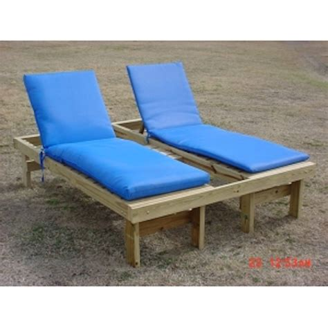 Double Chaise Lounge W Cushions Lack S Outdoor Furniture Lacks Outdoor Furniture
