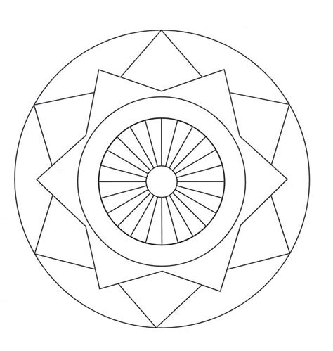 coloring pages of mandala designs mandalas coloring part 5