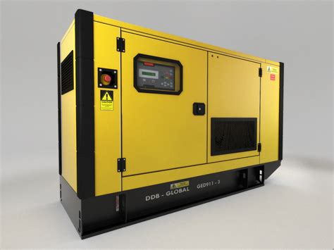 3d Model Generator power generator 3d model max obj 3ds fbx dxf cgtrader