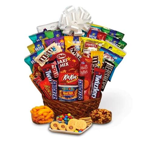 supersonic sweetness candy gift basket at send flowers