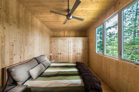 Timber Frame Cabin Floor Plans modern prefab cabin in quebec uses innovative wood panels