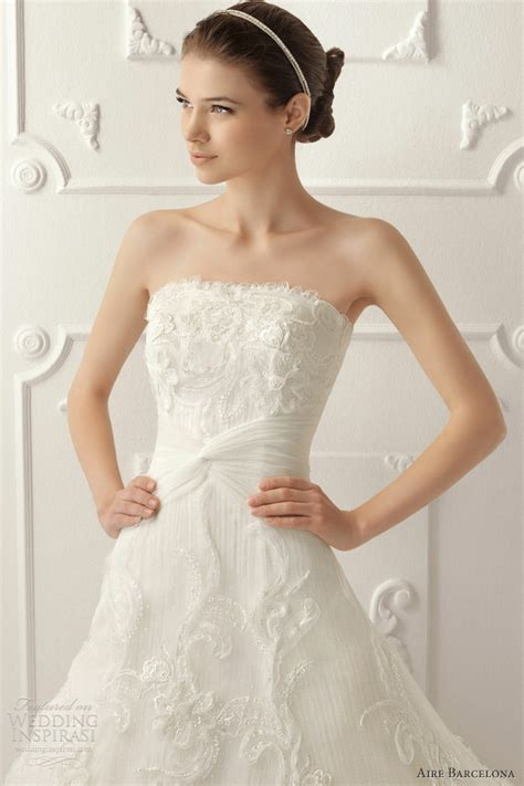 aire barcelona 2013 wedding dresses wedding inspirasi