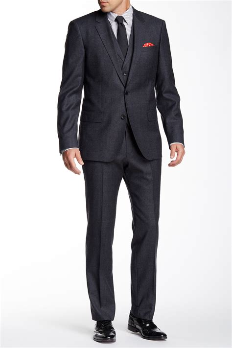 Suits Nordstrom Rack by Hugo Grey Two Button Notch Lapel Suit Nordstrom Rack
