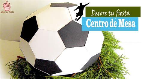 centros de mesa de futbol para clubes manualidades para fiesta bal 211 n de f 218 tbol sabor de
