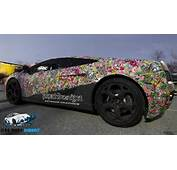 Gruesome Style Stickerbomb With ADT  Car Wrap Direct
