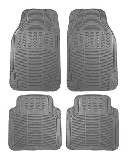spedy grey rubber car floor foot mats for maruti zen