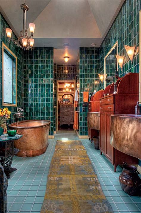 art nouveau bathroom tiles an art nouveau town house makeover old house online