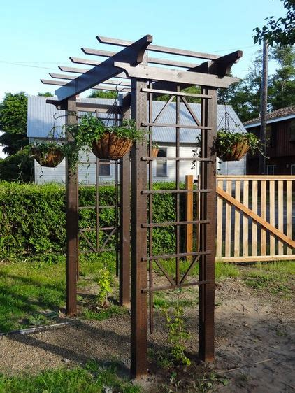 diy arbor swing diy arbor for 150 garden pinterest