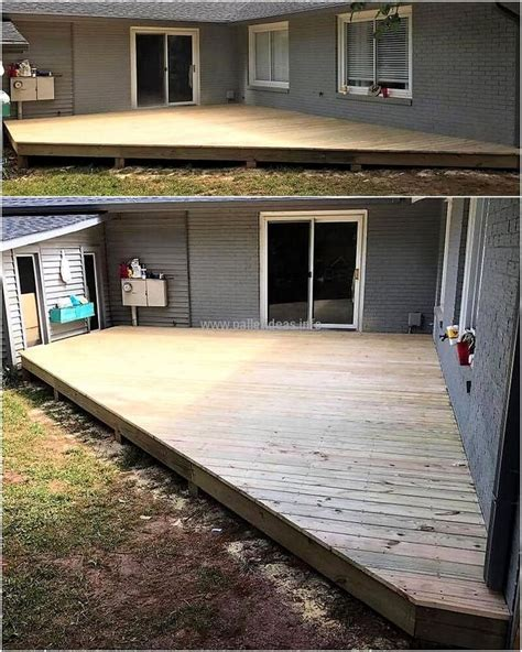 create a faux wood pallet wall wendy james designs best 20 pallet patio ideas on pinterest painted patio