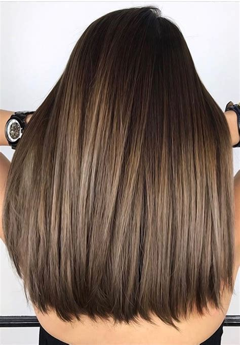 winter highlights for brunettes 42 fall winter brunette balayage highlights 2017 2018