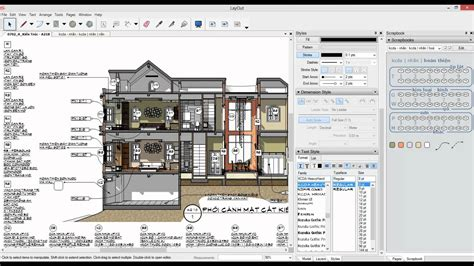 sketchup layout features sketchup layout annotation with autotexts and scrapbooks