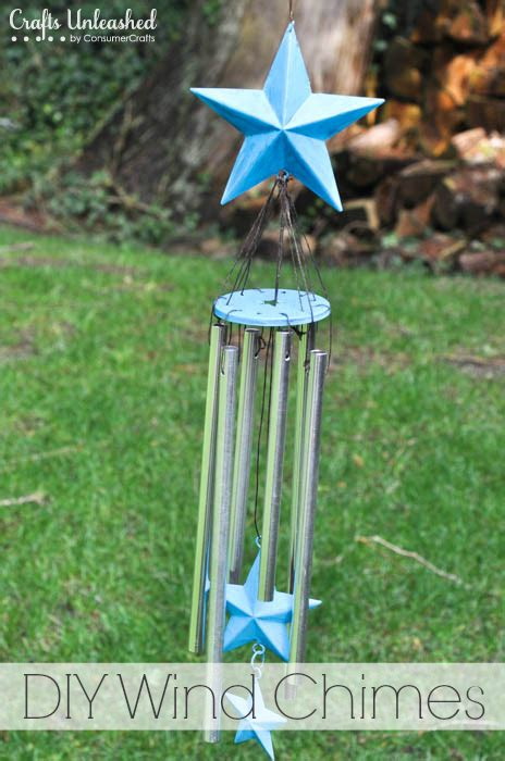 Turquoise Home Decor by Wind Chimes Tutorial Make Your Own Star Wind Chimes
