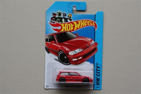 Hotwheels Honda Civic Ef Us Card wheels 2014 hw city 1990 honda civic ef