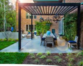 Patio Trellis Plans Mid Century Modern Renovation Contemporary Patio