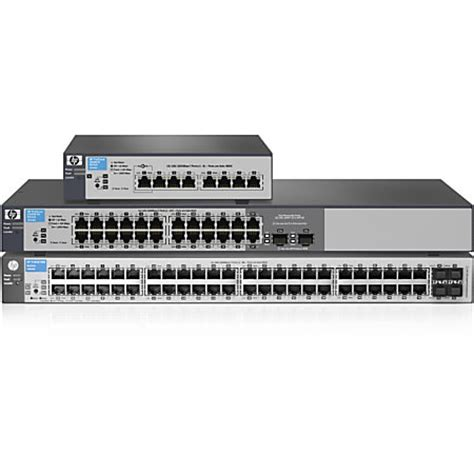Hp Switch Managed 1810 24 V2 hp 1810 24g v2 switch by office depot officemax