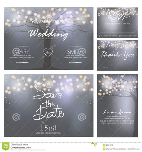 wedding invitation card website template wedding invitation card template vector stock vector