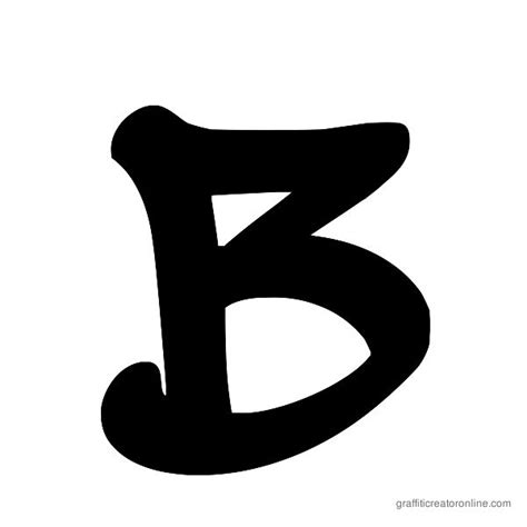 letter b typography wickhop handwriting font gallery graffiti creator no graffiti font generator