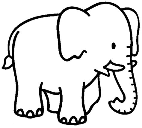 Elephant Coloring Pages Dr Odd Elephant Colouring Page