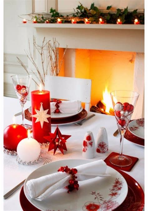christmas decoration restaurant ideas holliday decorations 60 christmas dining table decor in red and white family