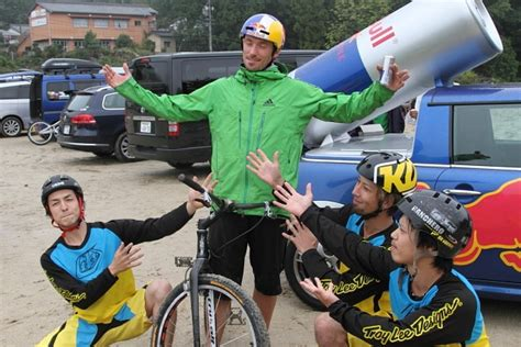 Jam Geneva Tribal kenny in japan with bull tribal zine bike trials