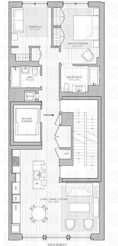 21W20 Unveils Two Full Floor Apartments Asking $2M Plus