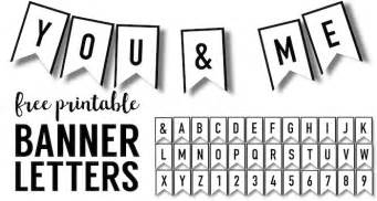 Free Printable Banner Templates For Word by Banner Templates Free Printable Abc Letters Paper Trail