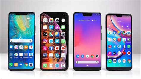 huawei mate 20 pro vs apple iphone xs max vs pixel 3 xl vs p20 pro benchmark swagtab