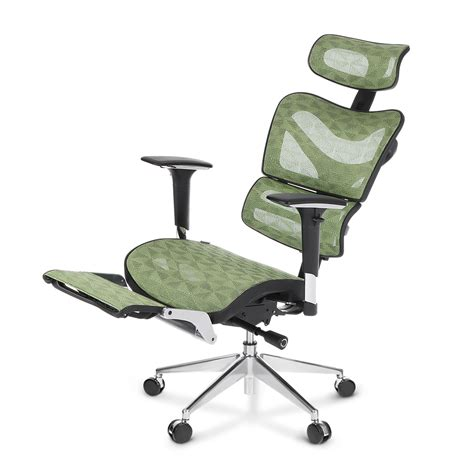 Ikayaa Mesh Ergonomic Office Chair Swivel Tilt Executive Computer Desk Foot Rest