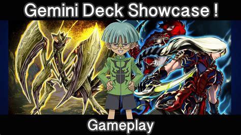 gemini yugioh deck yugioh duel links deck gemini deck