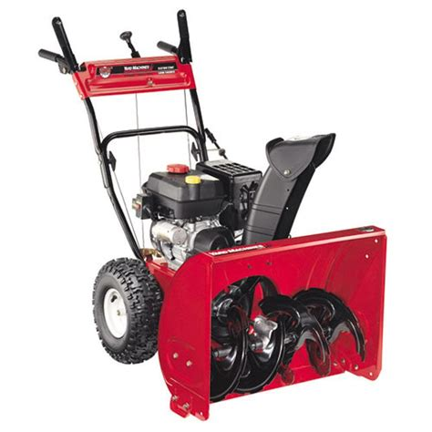 yard machines   cc  stage electric start gas snow
