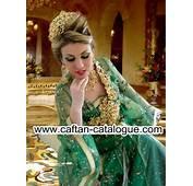 Robe Mariage Marocain Verte