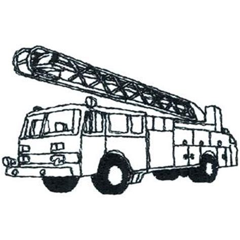 Firetruck Outline by Truck Outline Clipart Best Cliparts Co