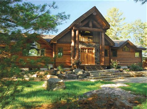 2 Best Cabins by Timberland Cabins Log Cabin Kits Log Buildings Log Home