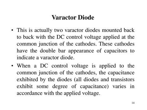 varactor diode applications ppt varactor diode applications ppt 28 images diode application ppt images varactor diode