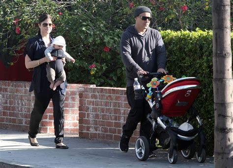 And Family Out For A Walk In Venice by Jason Bleick Photos Photos Selma Blair And Family Out