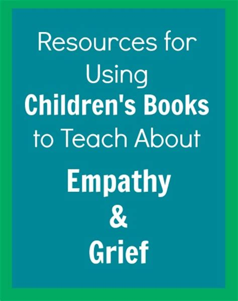 picture books that teach empathy children s books about empathy and tough situations